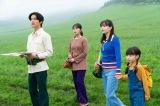 連続テレビ小説『なつぞら』第24週・第140回より。ロケハンのため十勝を訪れたマコプロのメンバー(C)NHK
