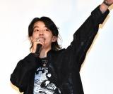 映画『タロウのバカ』の公開記念舞台あいさつに登壇したYOSHI (C)ORICON NewS inc.