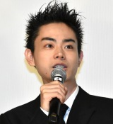 映画『タロウのバカ』の公開記念舞台あいさつに登壇した菅田将暉 (C)ORICON NewS inc.