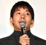 映画『タロウのバカ』の公開記念舞台あいさつに登壇した仲野太賀 (C)ORICON NewS inc.