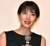 映画『タロウのバカ』の公開記念舞台あいさつに登壇した植田紗々 (C)ORICON NewS inc.