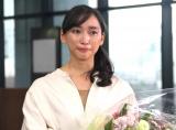 日本テレビ系連続ドラマ『偽装不倫』のクランクアップを迎え、感極まり涙する杏 (C)ORICON NewS inc.