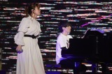 "『GUNDAM 40th FES. ""LIVE-BEYOND""』2日目に出演した(左から)Tielleと澤野弘之"