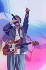 "『GUNDAM 40th FES. ""LIVE-BEYOND""』2日目に出演したBACK-ON"