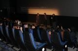 『第44回トロント国際映画祭』で『天気の子』が公式上映され、舞台あいさつする新海誠監督