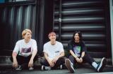 12月で活動休止することを発表した3人組バンド・SWANKY DANK(左から)YUICHI、KOJI、KO-TA