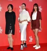 『第1回 KiRA KiRA Beauty Award』に出席した(左から)奈美悦子、アンミカ、稲村亜美 (C)ORICON NewS inc.