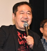 堂々と闇営業宣言した三浦マイルド=映画『東京アディオス』の上映会 (C)ORICON NewS inc.