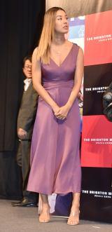 大胆なドレス姿を披露したすみれ (C)ORICON NewS inc.