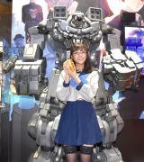 セーラー服のコスプレを披露した貴島明日香=『東京ゲームショウ2019』SEGAブース『十三機兵防衛圏』のスペシャルステージ (C)ORICON NewS inc.