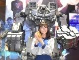 『東京ゲームショウ2019』SEGAブース『十三機兵防衛圏』のスペシャルステージに登場した貴島明日香 (C)ORICON NewS inc.