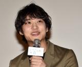 映画『いなくなれ、群青』の大ヒット御礼舞台あいさつに出席した松岡広大 (C)ORICON NewS inc.