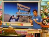 ABCテレビ『おはよう朝日です』9月9日から12日までの4日間かけてキリマンジャロ登頂に挑戦した模様を伝えた気象予報士の正木明(C)ABCテレビ