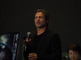 映画『アド・アストラ』のジャパンプレミアで舞台あいさつを行ったブラッド・ピット (C)ORICON NewS inc.