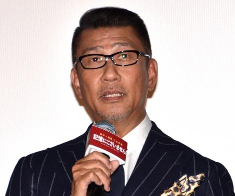映画『記憶にございません!』の初日舞台あいさつに出席した中井貴一 (C)ORICON NewS inc.