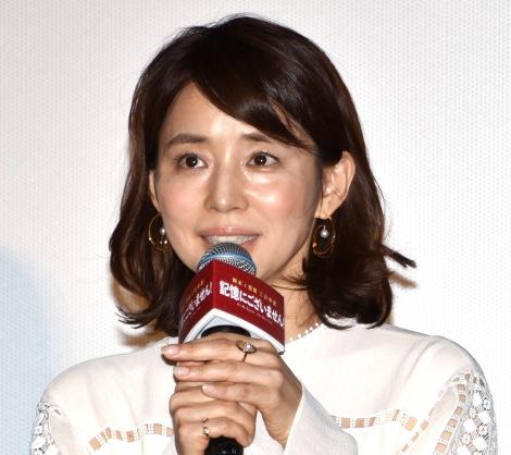 映画『記憶にございません!』の初日舞台あいさつに出席した石田ゆり子 (C)ORICON NewS inc.
