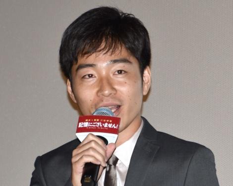 映画『記憶にございません!』の初日舞台あいさつに出席したジャルジャル・後藤淳平 (C)ORICON NewS inc.