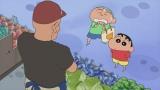 9月13日放送、『クレヨンしんちゃん』は1時間スペシャル。「マサオくんとおつかいだゾ」より(C)臼井儀人/双葉社・シンエイ・テレビ朝日・ADK