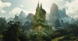 オーロラ姫の城(コンセプトアート)=ディズニー映画『マレフィセント2』(10月18日、日米同日公開)(C)2019 Disney Enterprises, Inc. All Rights Reserved.