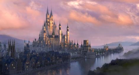 アルステッド城(コンセプトアート)=ディズニー映画『マレフィセント2』(10月18日、日米同日公開)(C)2019 Disney Enterprises, Inc. All Rights Reserved.