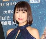 ミュージカル『ボディガード』来日公演の初日レッドカーペットイベントに出席した新妻聖子  (C)ORICON NewS inc.
