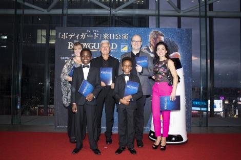 ミュージカル『ボディガード』来日公演の初日レッドカーペットイベント
