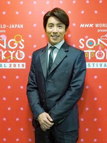 NHKの海外向けサービス「NHKワールドJAPAN」の音楽番組『SONGS OF TOKYO FESTIVAL 2019』ホストを務めた村上信五(関ジャニ∞) (C)ORICON NewS inc.