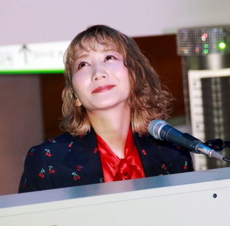 『VOGUE FASHION'S NIGHT OUT 2019』でスペシャルライブを行ったSEKAI NO OWARI・Saori (C)ORICON NewS inc.