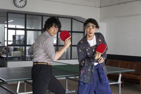 Indeed 新CM「卓球」篇よりメイキング