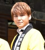 映画『任侠学園』のヒット祈願イベントに出席した佐野和真 (C)ORICON NewS inc.