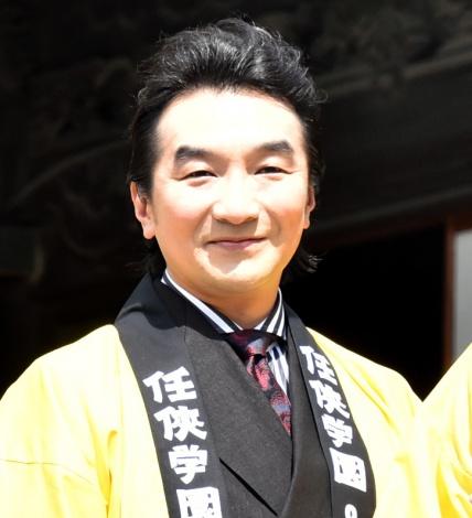 映画『任侠学園』のヒット祈願イベントに出席した池田鉄洋 (C)ORICON NewS inc.