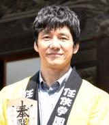 映画『任侠学園』のヒット祈願イベントに出席した西島秀俊 (C)ORICON NewS inc.