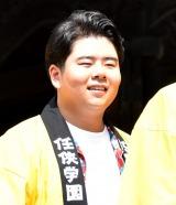 映画『任侠学園』のヒット祈願イベントに出席した前田航基 (C)ORICON NewS inc.