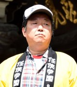 映画『任侠学園』のヒット祈願イベントに出席した木村ひさし監督 (C)ORICON NewS inc.