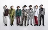 テレビ東京のドラマパラビ『ミリオンジョー』(10月9日スタート)主題歌を担当するKis-My-Ft2。メンバーの北山宏光(左から3人目)が主演