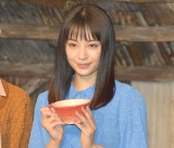 """ヒロイン完走!""""開放感""""がバレて赤面していた広瀬すず (C)ORICON NewS inc."""