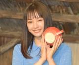 NHK連続テレビ小説のヒロインバトンタッチセレモニーに出席した広瀬すず (C)ORICON NewS inc.