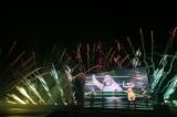 安室奈美恵さんのライブ映像、楽曲と花火がシンクロ