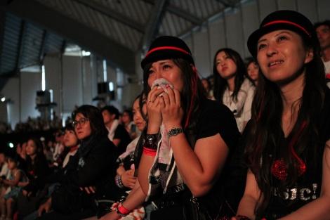 沖縄コンベンションセンターの展示棟/劇場棟で行われた特別応援上映