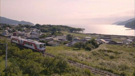 9月12日放送、総合テレビ『明日へ つなげよう』(5分番組)全線開通した三陸鉄道リアス線(C)NHK
