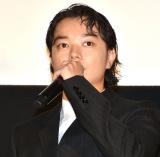 映画『最初の晩餐』完成披露舞台あいさつに出席した染谷将太 (C)ORICON NewS inc.