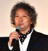 映画『最初の晩餐』完成披露舞台あいさつに出席した常盤司郎監督 (C)ORICON NewS inc.