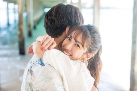 サムネイル ブログで結婚を報告した舟山久美子(写真はブログより、事務所許諾済み)