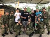 自衛隊とともに台風15号の被害を受けた千葉県への支援を行った西島隆弘、プロレス団体ZERO-1の火野選手、SUGI選手