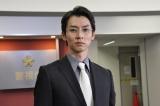 一課長よりも立場が上の、若き警察官僚を演じる石井一彰(C)テレビ朝日