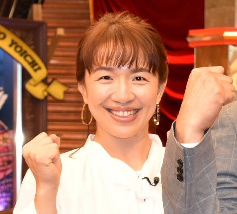 TBS『伝説の日本人を越えろ!サムライチャレンジ』収録後囲み取材に出席した浜口京子 (C)ORICON NewS inc.