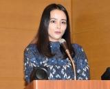 『ポーランド日本医療交流プログラム』発表イベントに登壇した加藤ローサ (C)ORICON NewS inc.