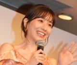 """""""女性人気""""獲得に笑みを浮かべた田中みな実 (C)ORICON NewS inc."""