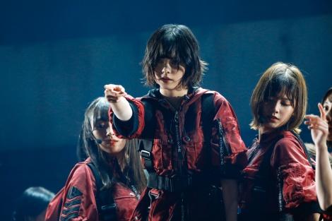平手友梨奈が復帰し初の東京ドーム公演を行った欅坂46 Photo by 上山陽介