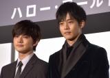映画『HELLO WORLD』初日舞台あいさつに登壇した(左から)北村匠海、松坂桃李 (C)ORICON NewS inc.
